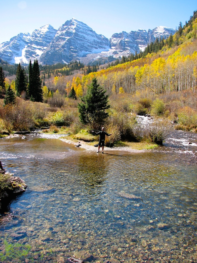 The ultimate mind body and spirit destination aspen for Aspen fly fishing