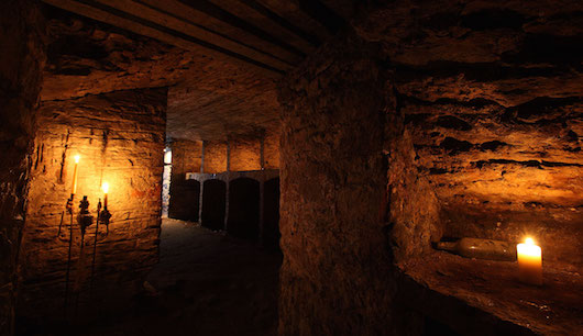 Blair Street Underground Vaults at Mercat Tour Doomed, Dead and Buried