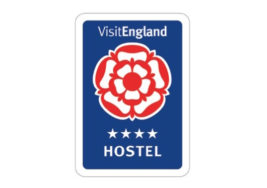 The Quality Rose is the official marque of the Enjoy England national tourist board rating scheme.
