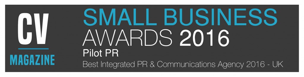 Pilot PR Limited Small Business Awards Winners 2016 Best Integrated PR Agency