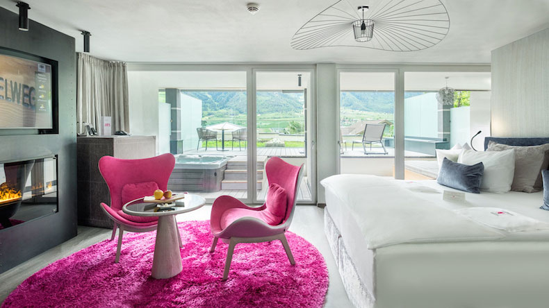 Luxury Hotel and Spa Preidlhof Private Suite Romantic Dream South Tyrol Italy