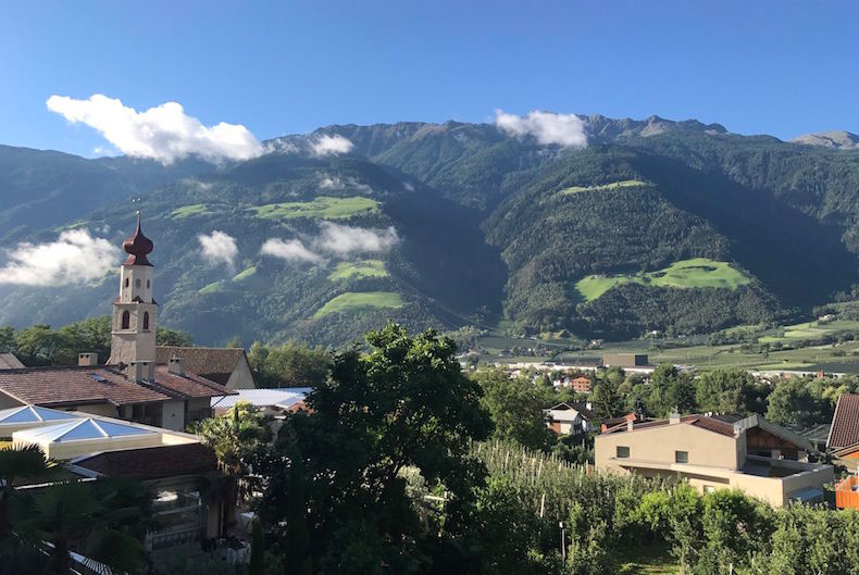 Preidlhof South Tyrol Italy - Romantic Suite Balcony View in the Day